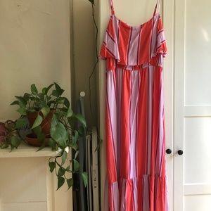 Old Navy Dresses - Old Navy Striped Maxi Dress – Petite L